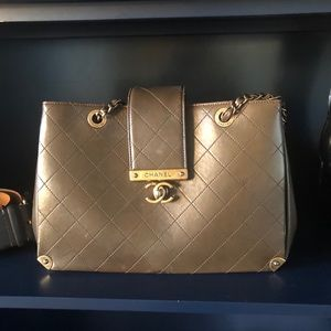 Chanel Copper/Brown Bag